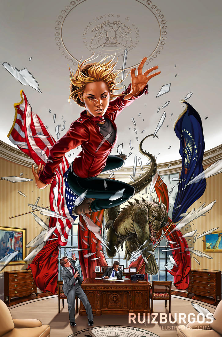 THE FIRST DAUGHTER #0 - Illustration only by RUIZBURGOS