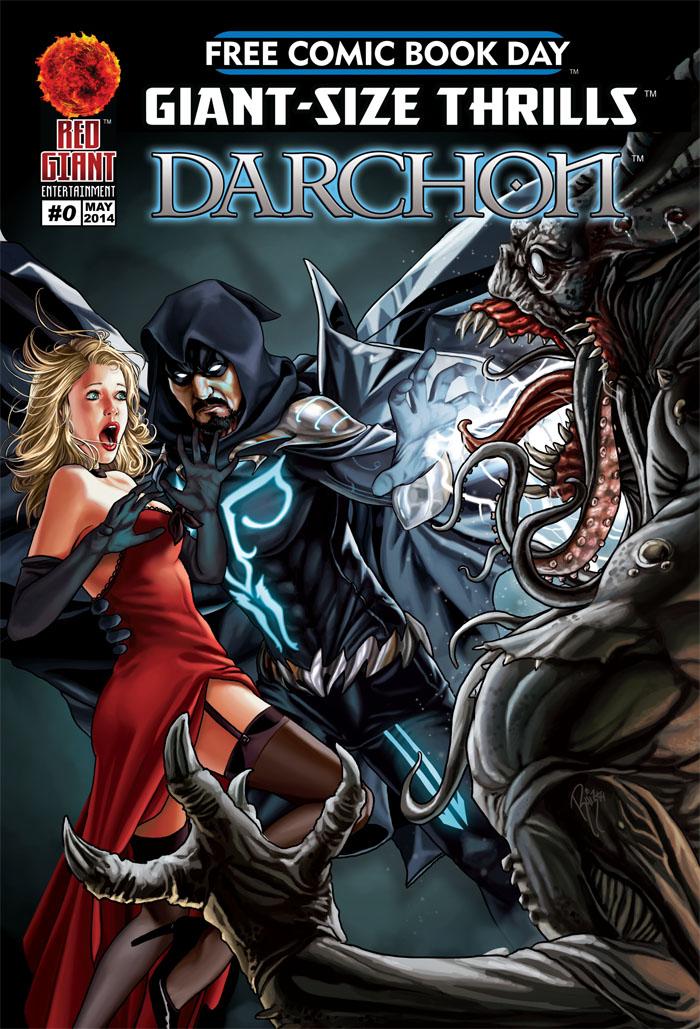 DARCHON #0 (cover) by RUIZBURGOS