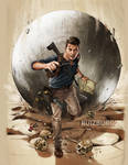 UNCHARTED 4 - The Game Magazine art