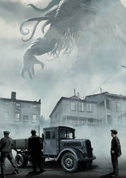 H. P. LOVECRAFT - 125th Anniversary Exhibition by RUIZBURGOS