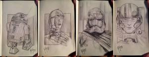 STAR WARS Sketchbook 3 by RUIZBURGOS