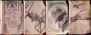 STAR WARS Sketchbook 4 by RUIZBURGOS