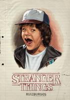 STRANGER THINGS - DUSTIN by RUIZBURGOS