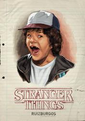 STRANGER THINGS - DUSTIN
