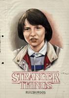 STRANGER THINGS - MIKE by RUIZBURGOS