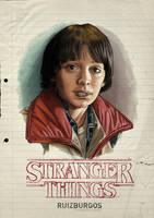 STRANGER THINGS - WILL by RUIZBURGOS