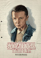 STRANGER THINGS - ELEVEN by RUIZBURGOS