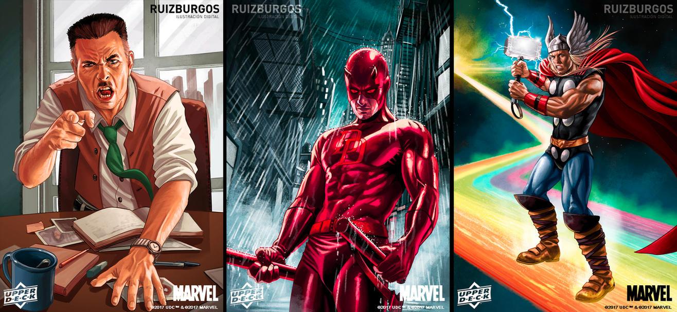FLEER ULTRA SPIDER-MAN Cards 2 by RUIZBURGOS