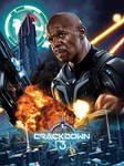 CRACKDOWN 3 POSTER SDCC