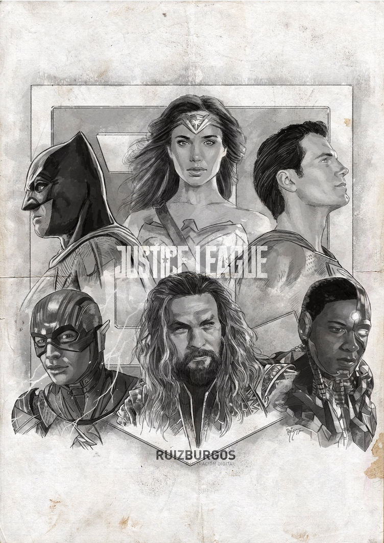 JUSTICE LEAGUE - COME TOGETHER by RUIZBURGOS