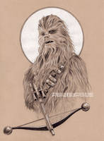 CHEWBACCA Portrait by RUIZBURGOS