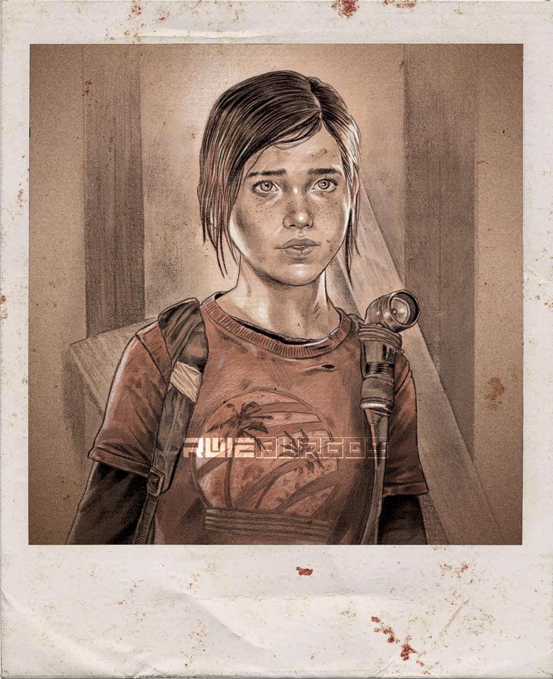 The Last of Us - ELLIE by RUIZBURGOS