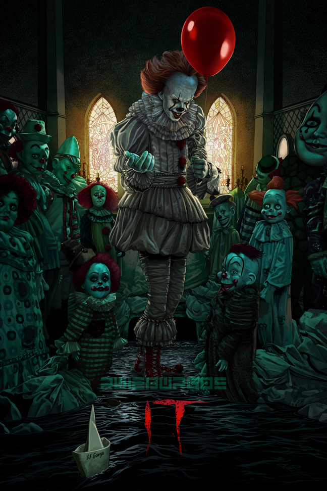 IT - Poster by RUIZBURGOS