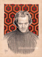 JACK TORRANCE Pencil by RUIZBURGOS