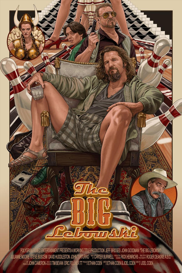 THE BIG LEBOWSKI by RUIZBURGOS