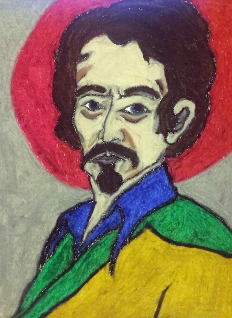 Hitler as Caravaggio (Oil Pastels) by dakotajdawson