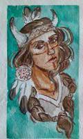 Watercolor study Jeanleroux