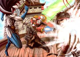 Tatsunoko VS Capcom by FallenAngel-pen