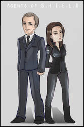 Two Agents of SHIELD by Kisse-san