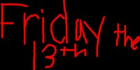 Friday the 13th stamp by x-Vodkaa