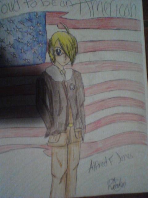 America Fanart by x-Vodkaa