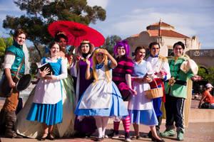 Disney Group shot by Lil-Kute-Dream