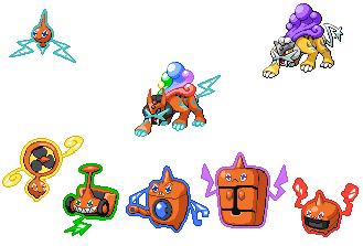 Rokou the Thunder Plasma Pokemon by aaron-autumrush