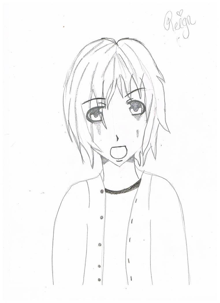 Crying boy sketch by killerkinng