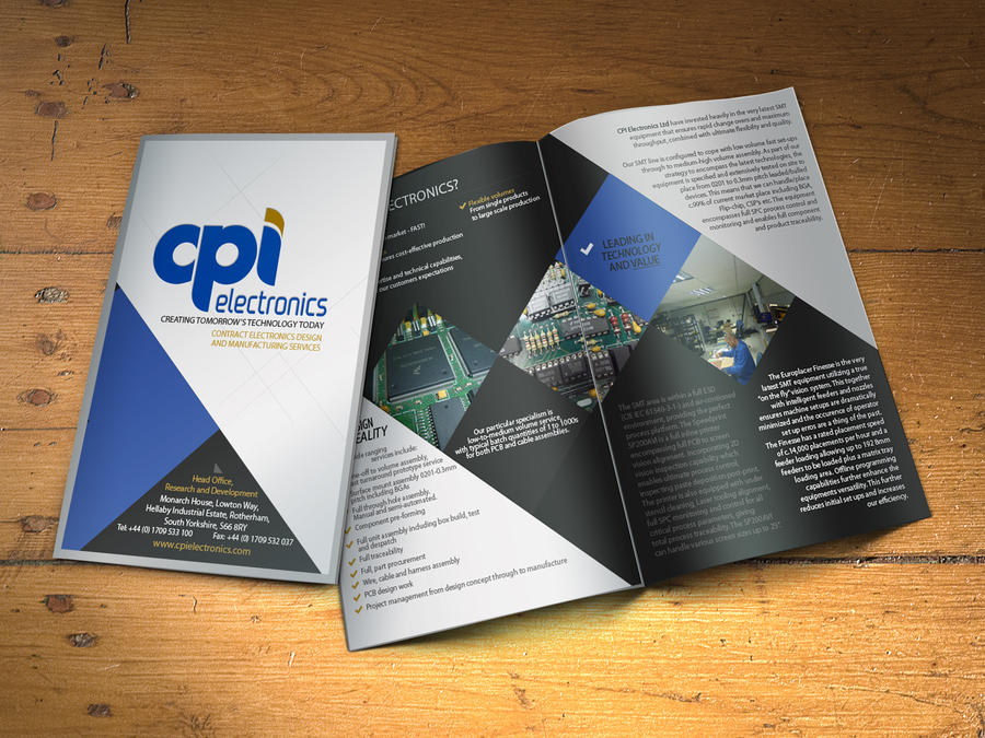 CPI Electronics Brochure by icondesigns on DeviantArt