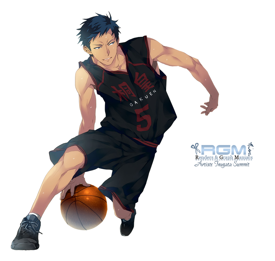aomine daiki by seradnarender on deviantart