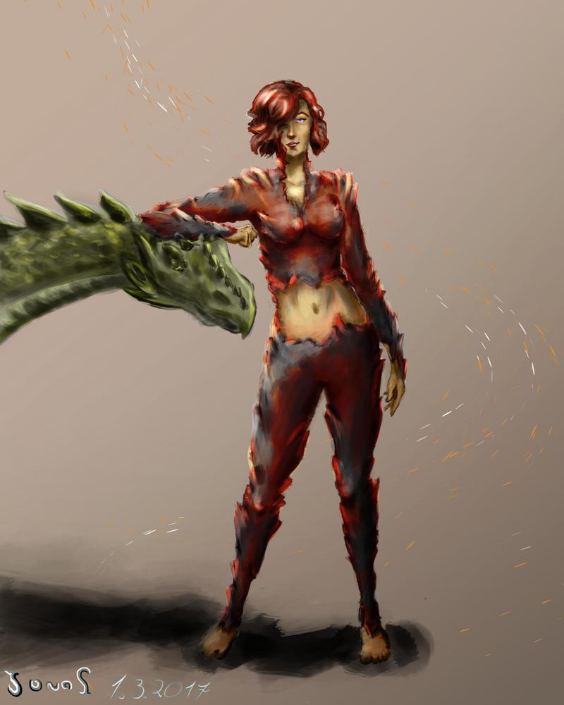 The Dragonborn by Flelb