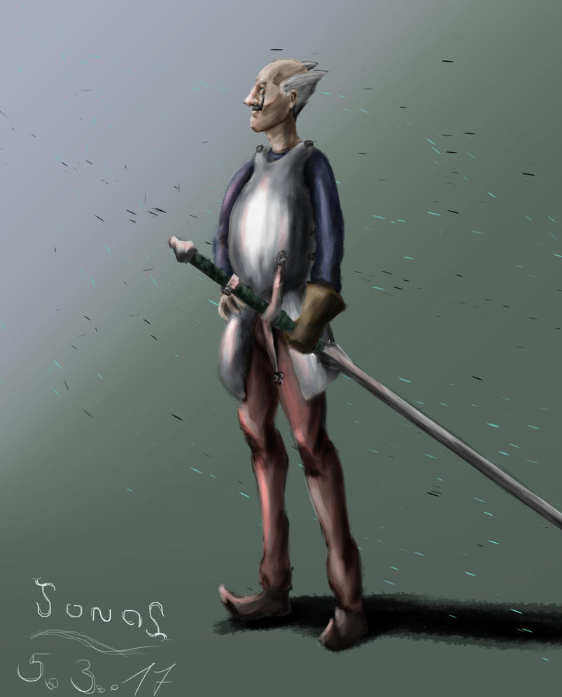 Character Design: Balduin the Old by Flelb