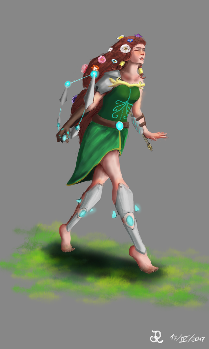Artemis: The Goddess of the Hunt by Flelb