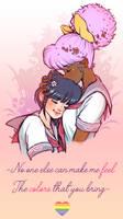 Lovin' You - Asha and Miki by Arumi-Kun