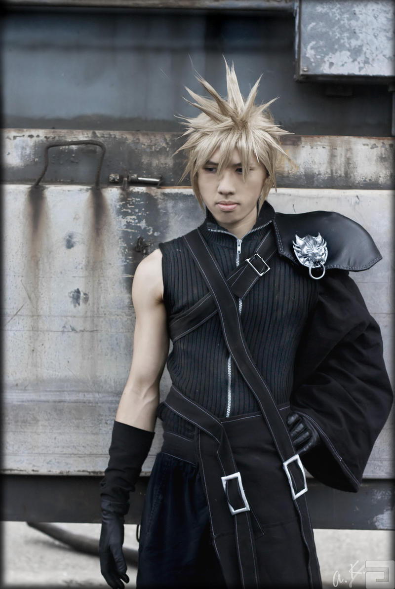 FFVII AC - Cloud Strife by AmenoKitarou