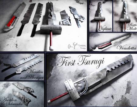 FFVII AC - First Tsurugi