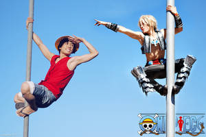 Luffy and Vaan