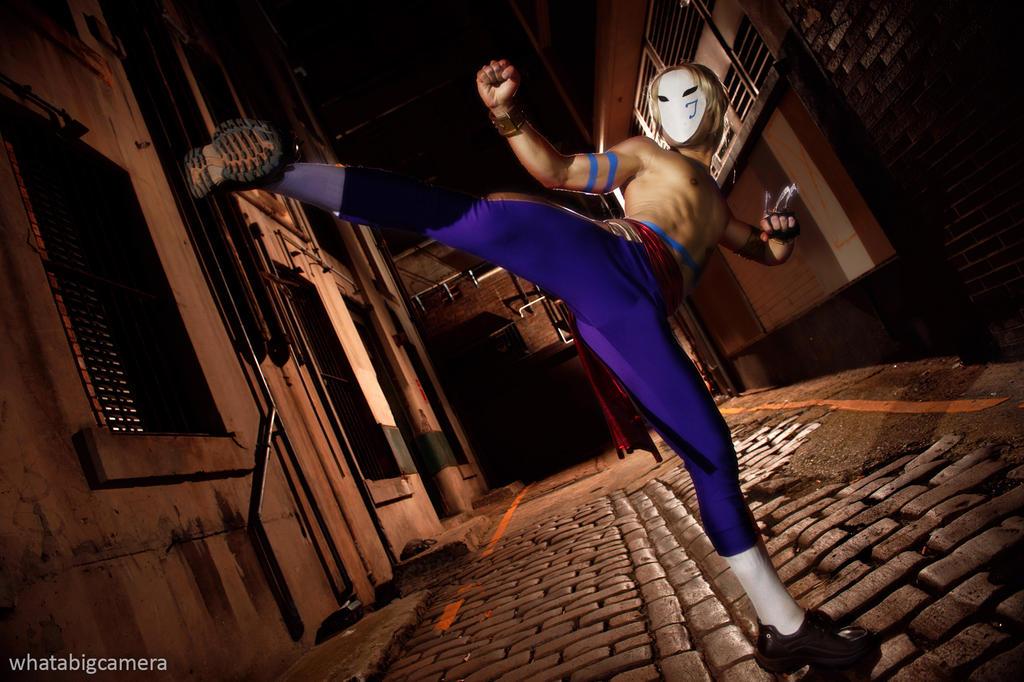 SFIV - Vega High Kick by AmenoKitarou