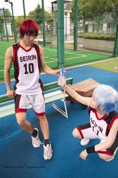 Kuroko no Basket - Half Time