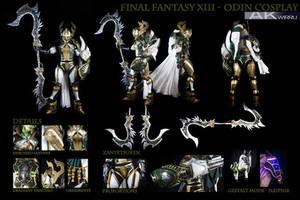 FINAL FANTASY XIII - ODIN COSTUME by AmenoKitarou