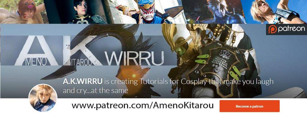 Cosplay Help on Patreon!  by AmenoKitarou