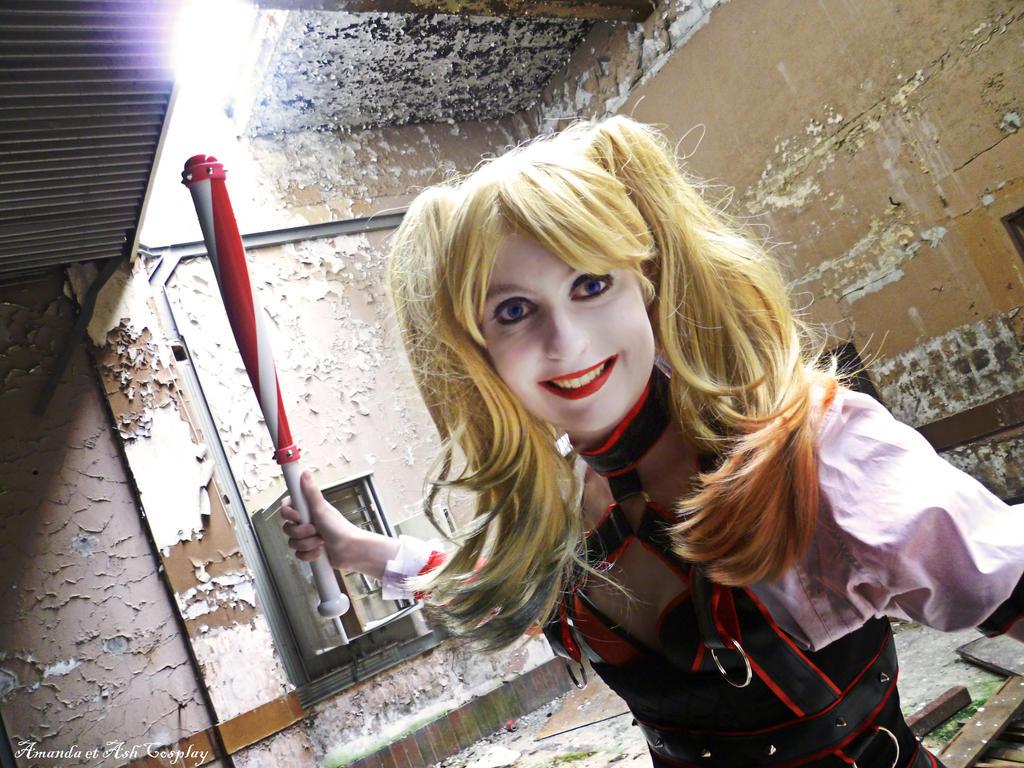 Harley Quinn Arkham Knight by Amanda-Quinn
