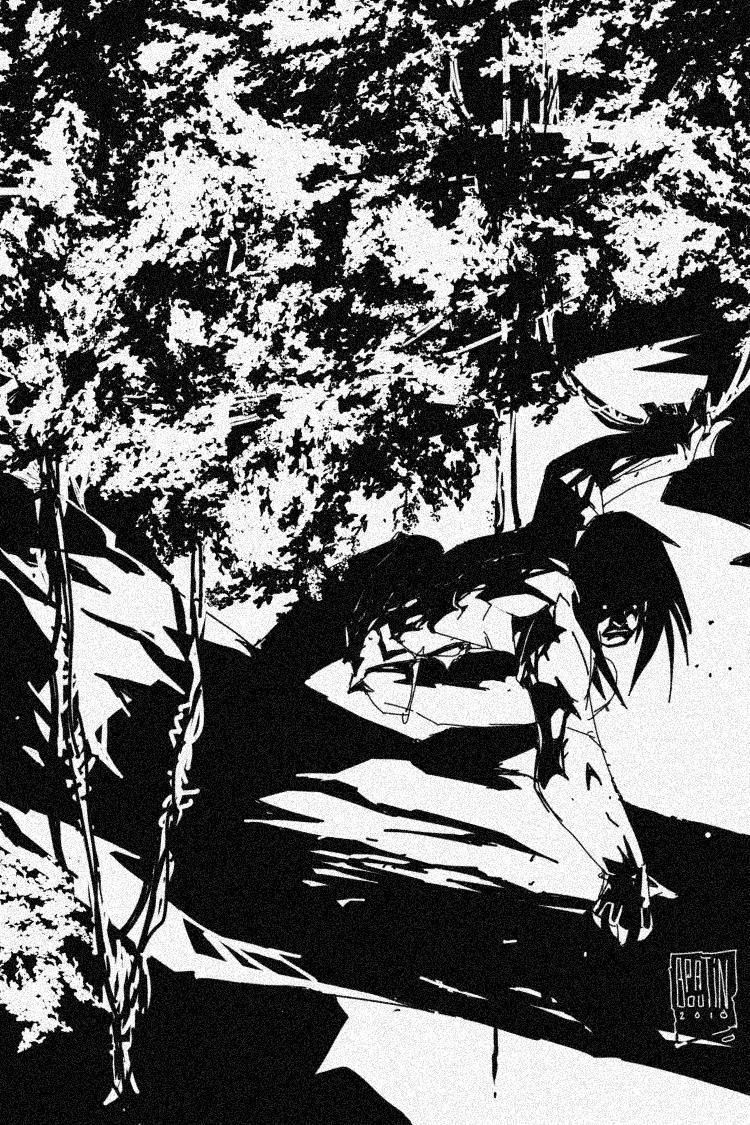 Tarzan... by PatBoutin