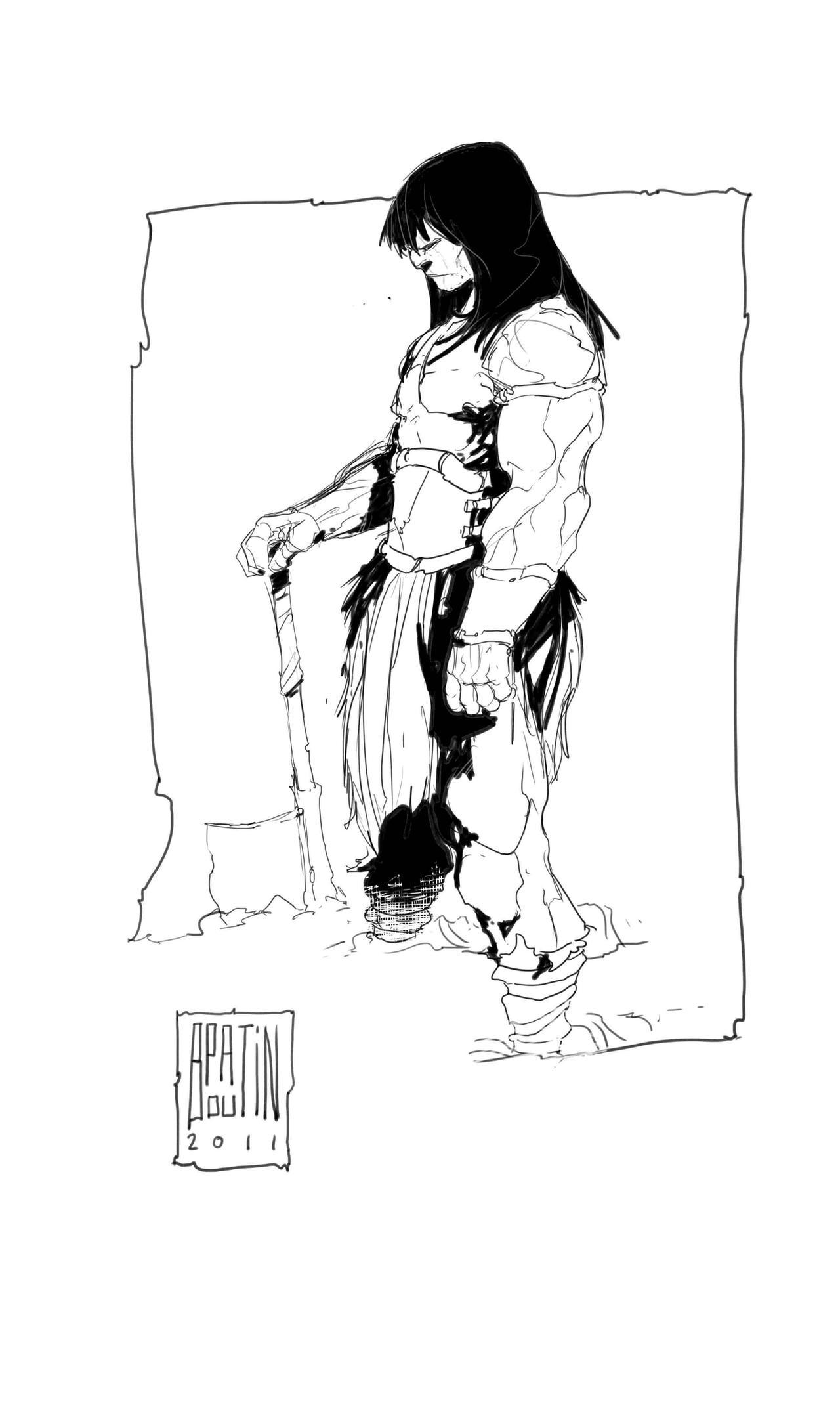 Conan by PatBoutin