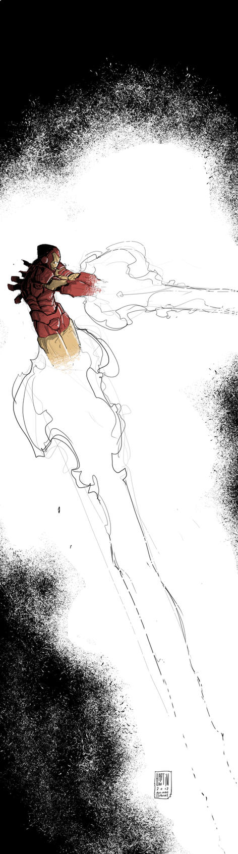 Iron Man by PatBoutin