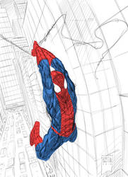 Ultimate Spiderman by PatBoutin