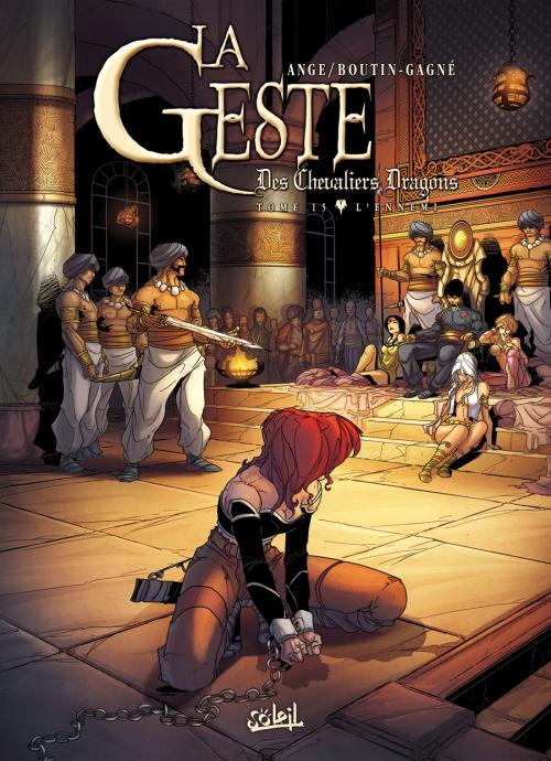 La geste cover colored by PatBoutin