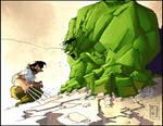 Logan Hulk Colored