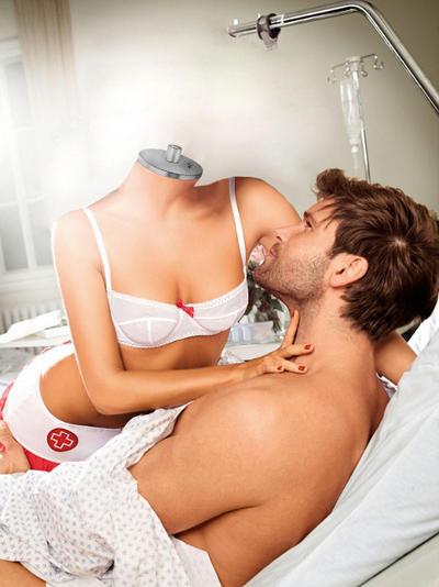 Seduces Patient Nurse Sexy