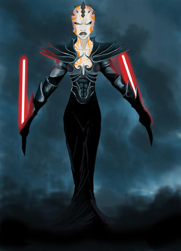 Zabrak Sith Female Zabrak warrior byFemale Sith Zabrak
